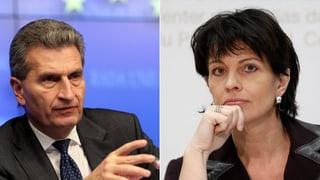 Leuthard bringt Bewegung ins Stromabkommen mit EU