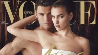 Cristiano Ronaldo lässt die Hüllen fallen