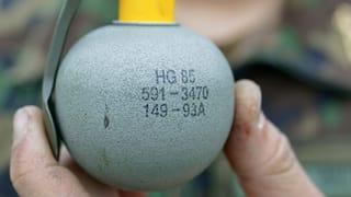 Einbruch bei Kriegsmaterial made in Switzerland