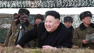 Kim Jong Un feiert mit Putin in Moskau