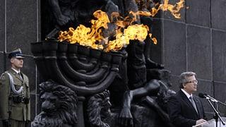 Polen gedenkt des Aufstands im Ghetto
