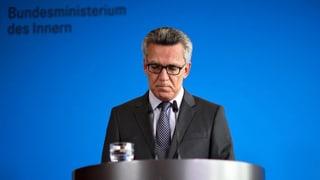 So will de Maizière den Terror in Deutschland bekämpfen