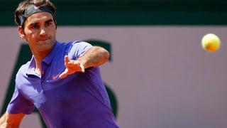 So lief die erste Runde von Federer und Wawrinka am French Open