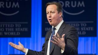 Cameron verteidigt britische Migrationspolitik