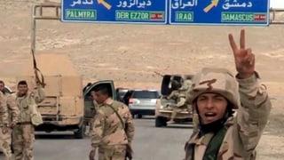 Syrische Armee erobert offenbar Zitadelle von Palmyra zurück