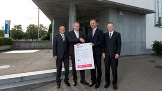 Erstes Minergie-A-Bürogebäude der Schweiz in Lenzburg
