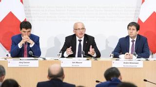 Bundesrat fasst «Plan B» bei weiterer Diskriminierung