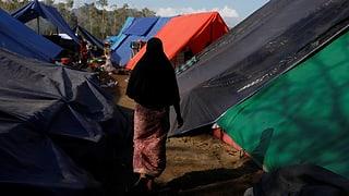 Opferzahl nach Erdbeben auf Lombok steigt