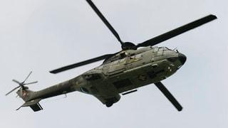 Helikopter-Einsatz für neue Gondelbahn