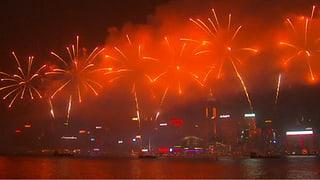 Hongkong lässt es krachen