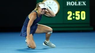 Nach hartem Kampf: Wozniacki zurück auf dem Tennisthron