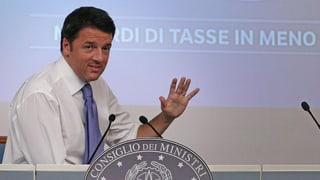 Renzis Rezept: Kaum beschlossen, schon scharf kritisiert