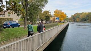 Schaffhauser Rheinufer soll zum Flanieren einladen