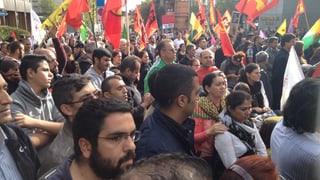 Demonstranten appellieren an das Gewissen des Westens