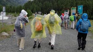 Nicht alle Touristiker leiden unter dem schlechten Wetter