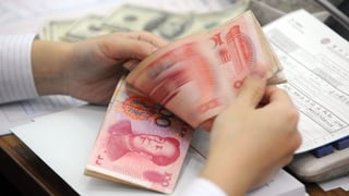 Peking gibt der Schweiz den Zugang zum Renminbi