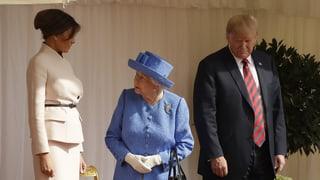 Trump liess Queen warten