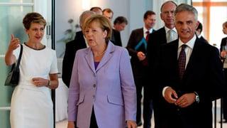 Merkel sieht Schweiz als Vorbild für EU-Flüchtlingspolitik