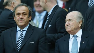 Avert procedura cunter Blatter e Platini