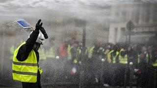 Über 1700 Festnahmen in Frankreich
