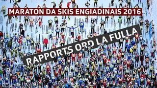 Maraton engiadinais 2016 Maraton da skis engiadinais 2016