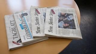 Regionalmedien der NZZ-Gruppe sollen enger zusammenarbeiten