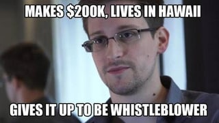 Whistleblower Edward Snowden wird im Netz gefeiert
