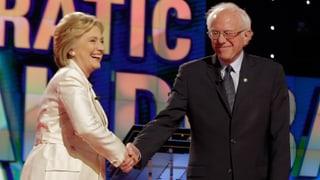 Sanders fordert Clinton bis zum Schluss