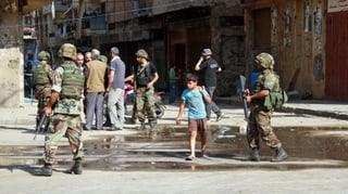 Syriens Krieg erfasst Norden des Libanon