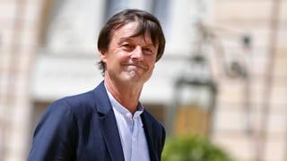 Französischer Umweltminister Hulot verlässt Regierung