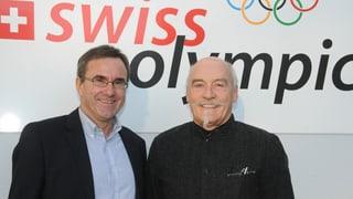 Plirs prominents grischuns vulan gieus olimpics en il Grischun