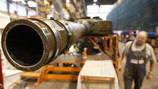Bundesrat soll auch künftig über Waffenexporte entscheiden