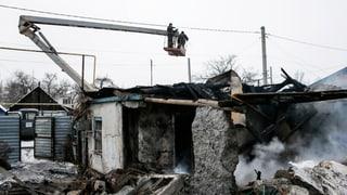 Einzelne Schüsse trotz Feuerpause in der Ostukraine