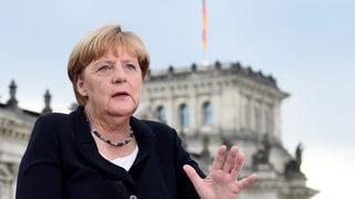 Merkel lässt sich nicht in die Karten blicken