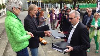 Petition für Bruno Weber Park eingereicht