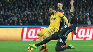 «Juve» siegt dank Higuain gegen Napoli, oder: Der Catenaccio lebt