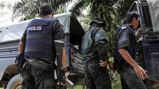 Tote bei Gebietsstreitigkeiten in Malaysia