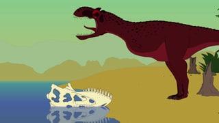 Video «Ralph und die Dinosaurier: Rajasaurus (18/26)» abspielen