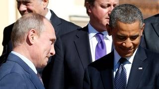 Telefon-Diplomatie in der Krim-Krise