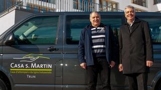 «Casa s. Martin»: Nov logo, nov bus ed in president che va