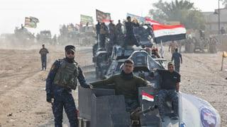 Irakische Armee dringt in IS-Hochburg Mossul ein