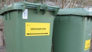 Die Grüngutabfuhr in Bern ist ein Renner