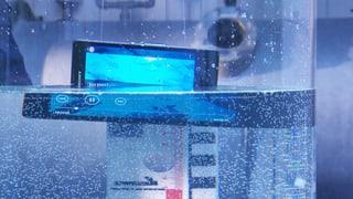 Wasserdichte Handys: Die Werbung verspricht zu viel