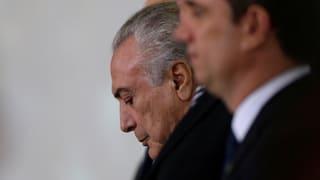 Temer muss in Brasilien um Amt bangen