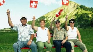 Die Filmemacher Simon Baumann und Andreas Pfiffner polieren das Image der Schweiz auf – mit einem nicht ganz ernst gemeinten Image-Film. «Image Problem» – hier online