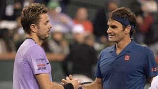 Derby svizzer tranter Federer e Wawrinka