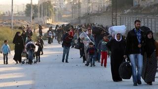 Rebellen im Würgegriff der Assad-Truppen