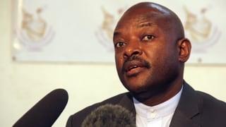 In Burundi putscht sich das Militär an die Macht