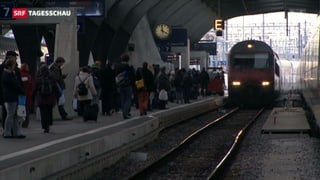 SBB 2012: Tages-Passagier-Zahl sinkt um 10'000