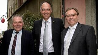 Walliser Regierung: Niemand gewählt, CVP an der Spitze